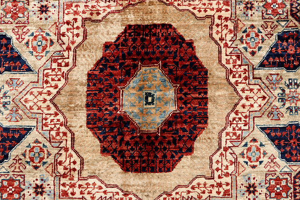 Multi Colored Mamluk 4' 3 x 6' 3 - No. 66196 - Alrug Rug Store