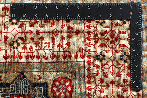 Multi Colored Mamluk 4' 1 x 5' 11 - No. 66197 - Alrug Rug Store