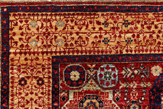 Dark Red Mamluk 3' 10 x 6' - No. 66198 - Alrug Rug Store