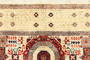 Blanched Almond Mamluk 4' x 6' - No. 66202 - ALRUG Rug Store