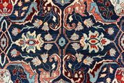Midnight Blue Ikat 9' 1 x 11' 11 - No. 66215 - Alrug Rug Store