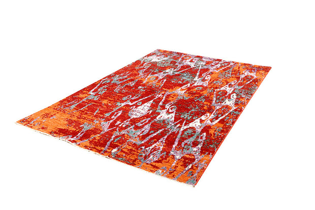 Multi Colored Abstract 4' 6 x 6' 11 - No. 66227 - ALRUG Rug Store
