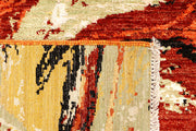 Multi Colored Abstract 4' 1 x 6' 3 - No. 66235 - ALRUG Rug Store