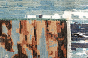 Multi Colored Abstract 6' 4 x 9' 9 - No. 66239 - ALRUG Rug Store