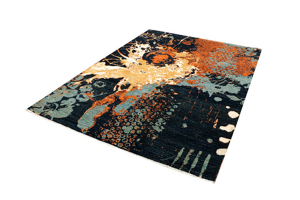 Multi Colored Abstract 5' 7 x 7' 9 - No. 66240 - ALRUG Rug Store