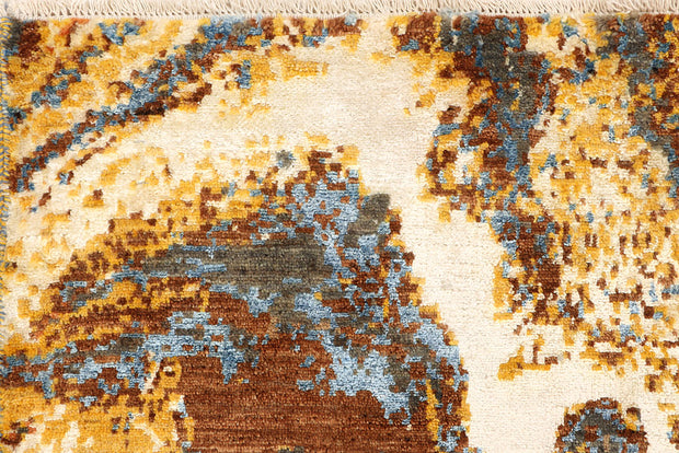 Multi Colored Abstract 4' 2 x 6' 2 - No. 66247 - ALRUG Rug Store