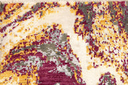 Multi Colored Abstract 4' 2 x 6' 2 - No. 66251 - ALRUG Rug Store