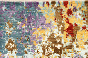 Multi Colored Abstract 4' 1 x 6' 3 - No. 66252 - ALRUG Rug Store