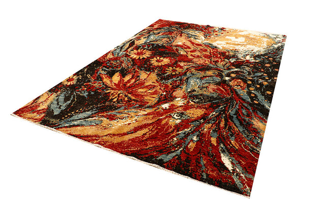 Multi Colored Abstract 6' 7 x 9' 8 - No. 66264 - ALRUG Rug Store