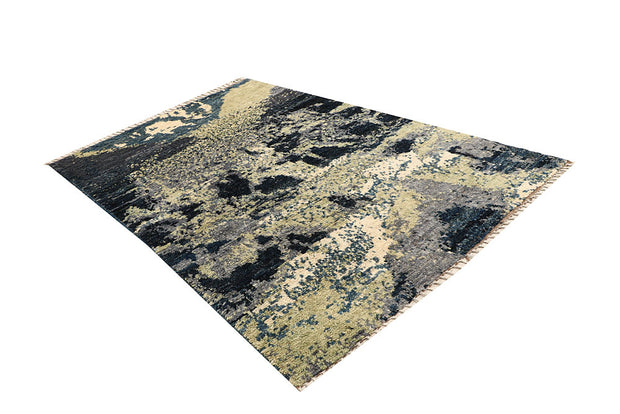 Multi Colored Abstract 5' 1 x 7' 9 - No. 66271 - ALRUG Rug Store