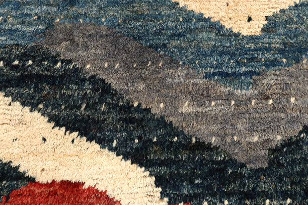 Multi Colored Abstract 5' 10 x 8' 2 - No. 66276 - ALRUG Rug Store