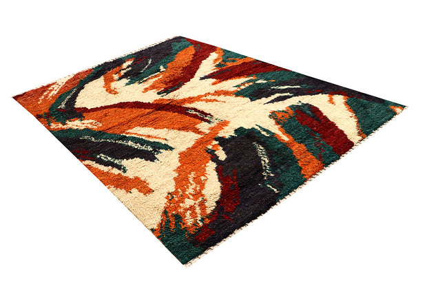 Multi Colored Abstract 5' 8 x 7' 10 - No. 66289 - ALRUG Rug Store