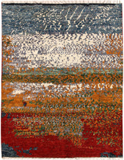 Multi Colored Abstract 4' 11 x 6' 4 - No. 66291 - ALRUG Rug Store
