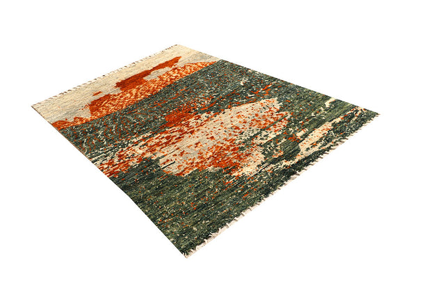 Multi Colored Abstract 4' 9 x 6' 6 - No. 66293 - ALRUG Rug Store