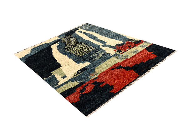Multi Colored Abstract 5' 1 x 6' 6 - No. 66296 - ALRUG Rug Store