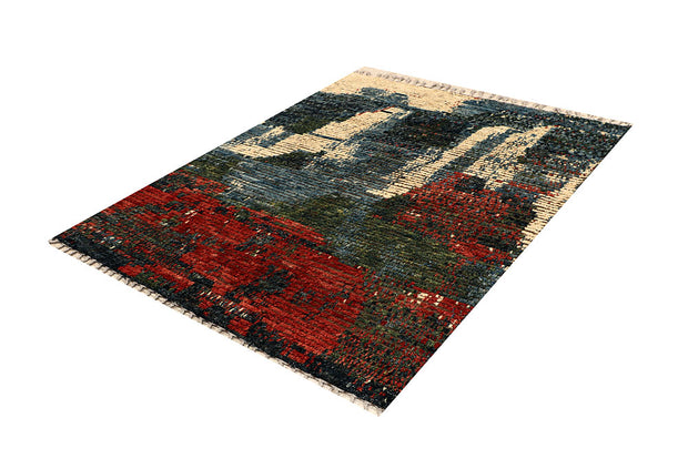 Multi Colored Abstract 5' 4 x 6' 8 - No. 66302 - ALRUG Rug Store