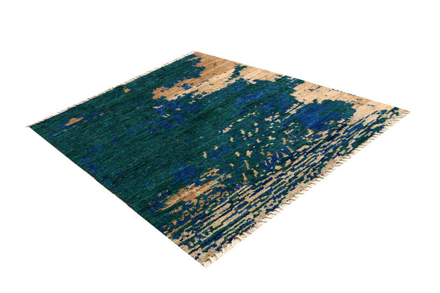 Multi Colored Abstract 5' 1 x 6' 5 - No. 66305 - ALRUG Rug Store