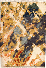 Multi Colored Abstract 6' 8 x 9' 5 - No. 66313 - ALRUG Rug Store
