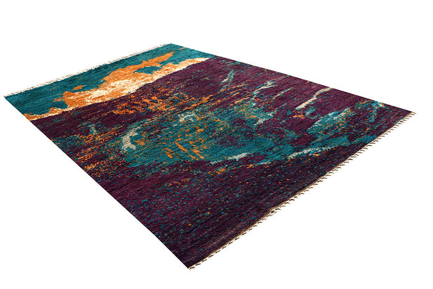 Multi Colored Abstract 6' 7 x 9' 8 - No. 66315 - ALRUG Rug Store
