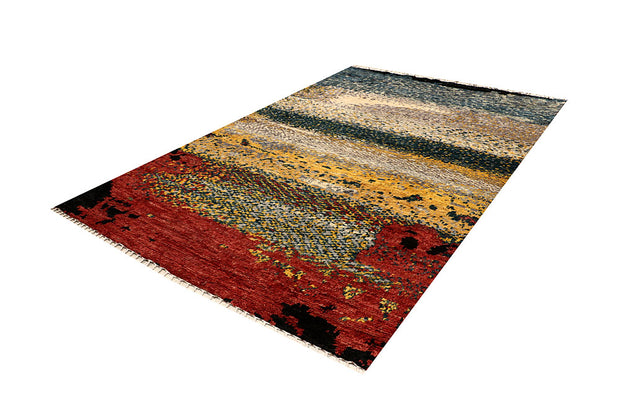 Multi Colored Abstract 6' 7 x 9' 8 - No. 66316 - ALRUG Rug Store