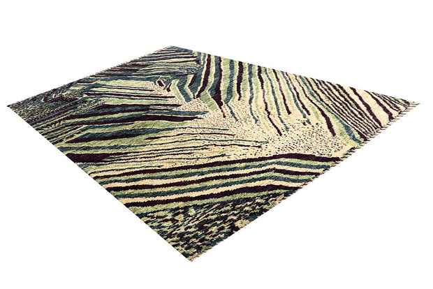 Multi Colored Abstract 6' 8 x 9' 7 - No. 66321 - ALRUG Rug Store