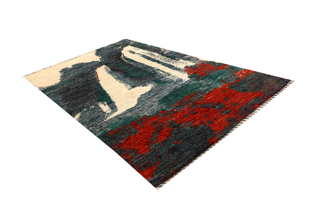 Multi Colored Abstract 5' 9 x 9' 9 - No. 66322 - ALRUG Rug Store