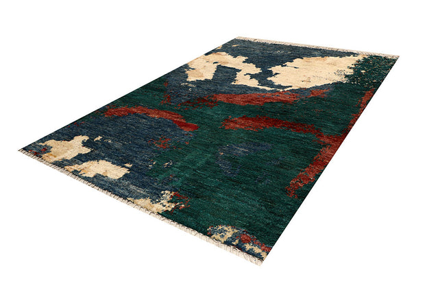 Multi Colored Abstract 6' 8 x 9' 9 - No. 66331 - ALRUG Rug Store