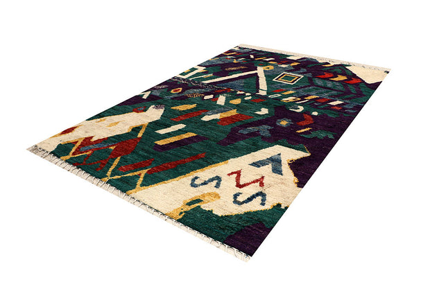 Multi Colored Abstract 6' 8 x 9' 9 - No. 66333 - ALRUG Rug Store