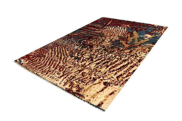 Multi Colored Abstract 6' 6 x 9' 5 - No. 66351 - ALRUG Rug Store