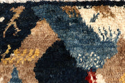 Multi Colored Abstract 6' 6 x 9' 7 - No. 66352 - ALRUG Rug Store