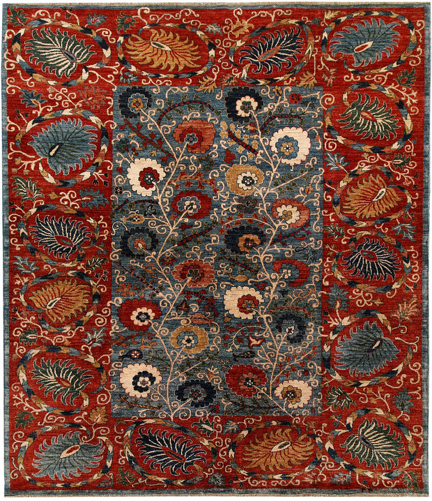 Light Slate Grey Ziegler 8' 2 x 9' 9 - No. 66395 - ALRUG Rug Store