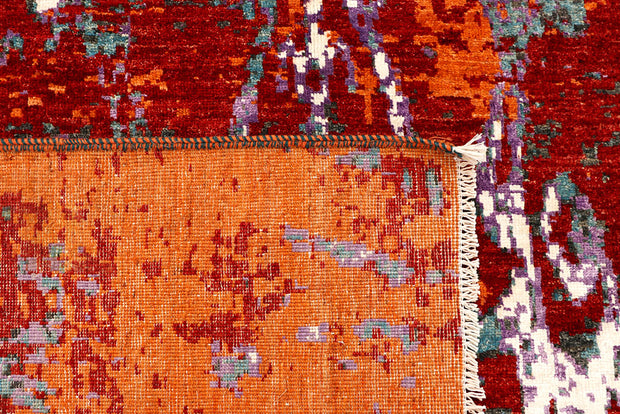 Multi Colored Abstract 5' 5 x 7' 9 - No. 66411 - ALRUG Rug Store