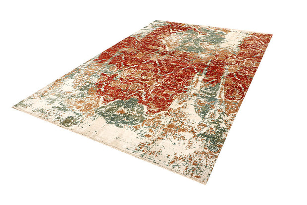 Multi Colored Abstract 6' 6 x 9' 6 - No. 66416 - ALRUG Rug Store
