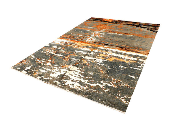 Multi Colored Abstract 6' 9 x 9' 9 - No. 66419 - ALRUG Rug Store