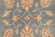 Light Slate Grey Oushak 2' 7 x 12' 6 - No. 66439 - ALRUG Rug Store
