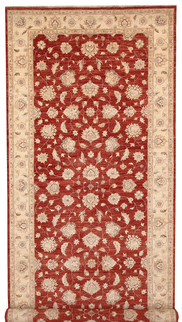 Brown Ziegler 6' 7 x 19' 4 - No. 66462 - ALRUG Rug Store