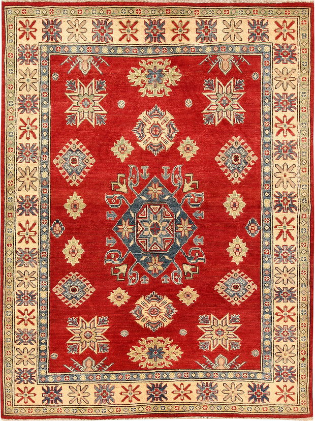 Red Kazak 5' 1 x 6' 11 - No. 66495 - ALRUG Rug Store