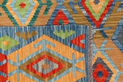 Multi Colored Kilim 5' 1 x 6' 6 - No. 66604 - ALRUG Rug Store