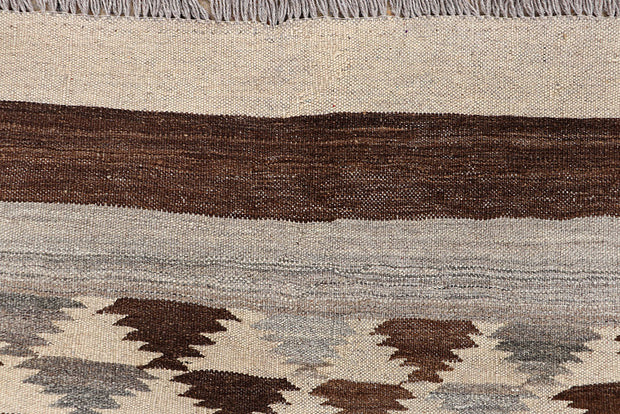 Multi Colored Kilim 4' 4 x 6' 3 - No. 66639 - ALRUG Rug Store