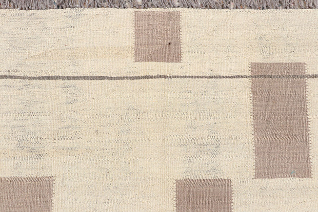 Multi Colored Kilim 6' 2 x 8' 10 - No. 66714 - ALRUG Rug Store