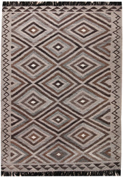 Multi Colored Kilim 4' 8 x 6' 6 - No. 66752 - ALRUG Rug Store