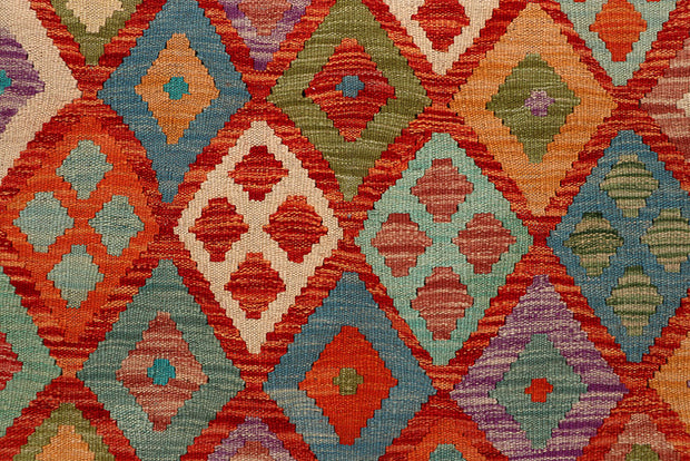 Multi Colored Kilim 5' x 6' 9 - No. 66761 - ALRUG Rug Store