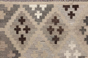 Multi Colored Kilim 4' 9 x 6' 3 - No. 66764 - ALRUG Rug Store