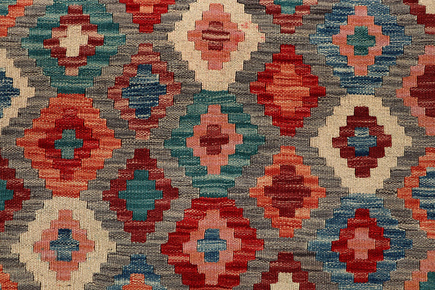 Multi Colored Kilim 5' x 6' 4 - No. 66770 - ALRUG Rug Store