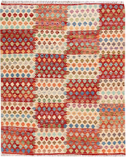 Multi Colored Kilim 5' 2 x 6' 5 - No. 66787 - ALRUG Rug Store