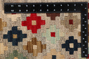 Multi Colored Kilim 4' 11 x 6' 5 - No. 66826 - ALRUG Rug Store
