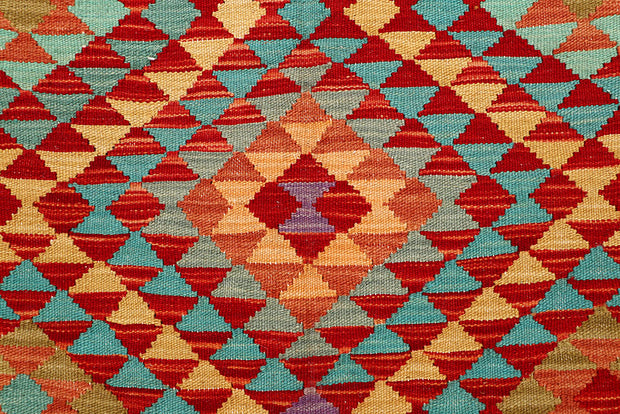 Multi Colored Kilim 5' 3 x 7' 10 - No. 66836 - ALRUG Rug Store