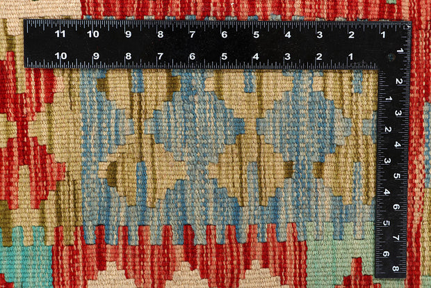 Multi Colored Kilim 5' 6 x 7' 9 - No. 66842 - ALRUG Rug Store