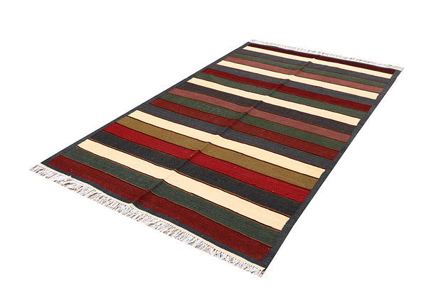 Multi Colored Kilim 4' 10 x 8' 2 - No. 66849 - ALRUG Rug Store