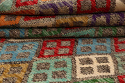 Multi Colored Kilim 5' 9 x 7' 6 - No. 66863 - ALRUG Rug Store